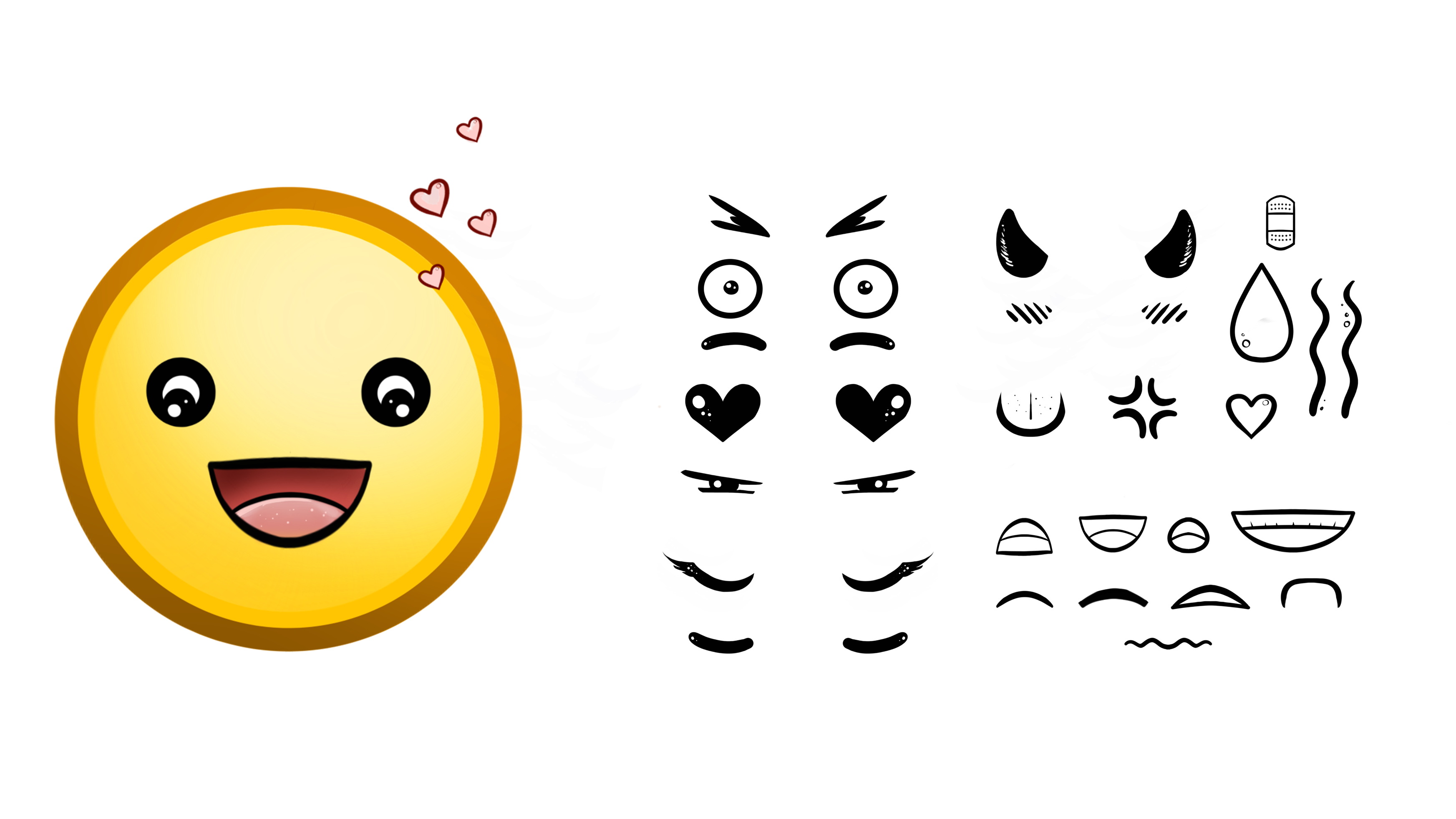 Emoji Brush Set